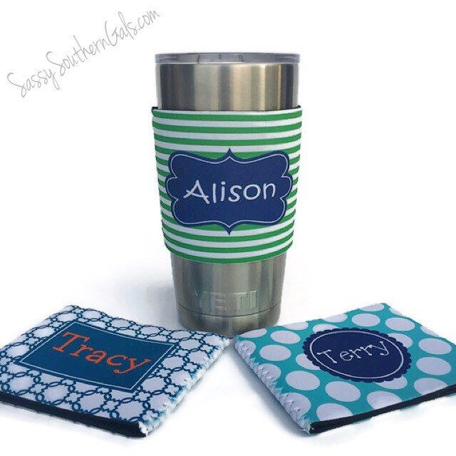 Personalized Yeti Tumbler | Design Your Own | Yeti Tumbler Monogram | Gift for Her by SassySouthernGals on Etsy https://www.etsy.com/listing/292757587/personalized-yeti-tumbler-design-your