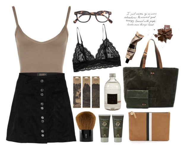 """""""Untitled #33"""" by nagy-bori on Polyvore featuring WearAll, H&M, Panier des Sens, Culti, Clare V., Jayson Home and J.Crew"""