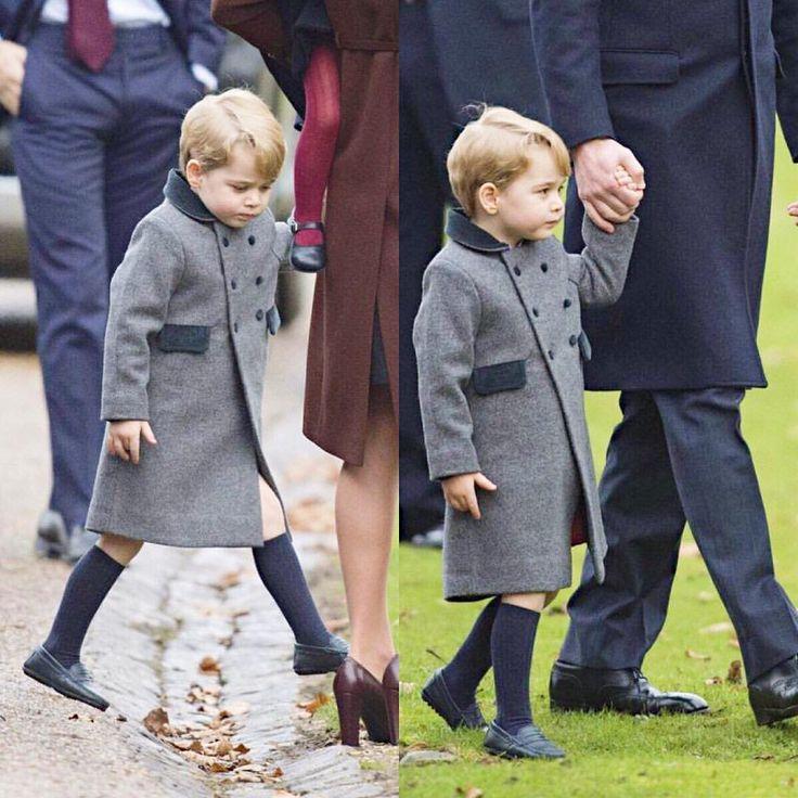 Prince George, Christmas 2016