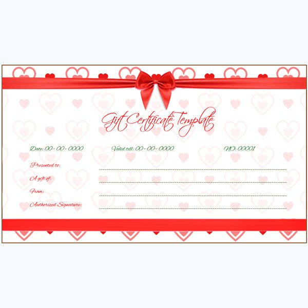 47 best Gift Certificate Templates images on Pinterest Gift - how to word a gift certificate