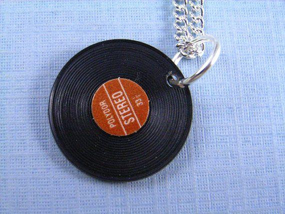 Circular pendant vinyl