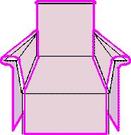 Folding Camp Chair Cover  Disguising a camp chair so that it looks more appropriate for faire?