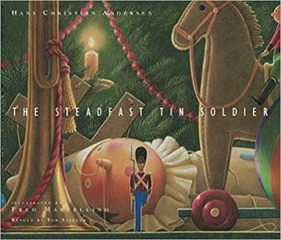 The Steadfast Tin Soldier: Award-winning author Tor Seidler and the incomparable illustrator Fred Marcellino retell Hans Christian Anderson's classic Christmas tale about a tin solder who is separated from the paper ballerina he loves in this stunning picture book that's perfect for gift-giving.True love blossoms between a handsome one-legged tin soldier and a graceful paper ballerina, posed in arabesque.