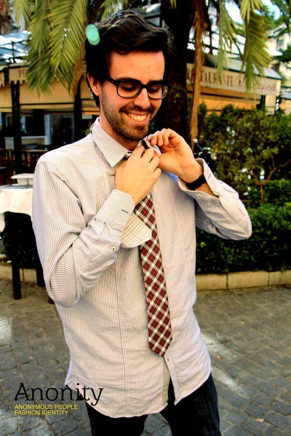 Una corbata más informal