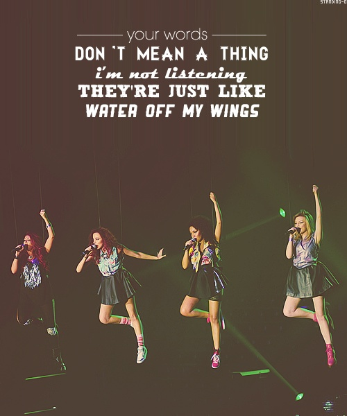 DAY 3- a song that makes me happy: Wings by Little Mix.... Every time I hear this song it just makes me smile and feel happy