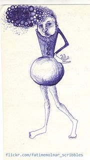 illustration drawing sketch design ink drawing figure scribble fatime molnar 2