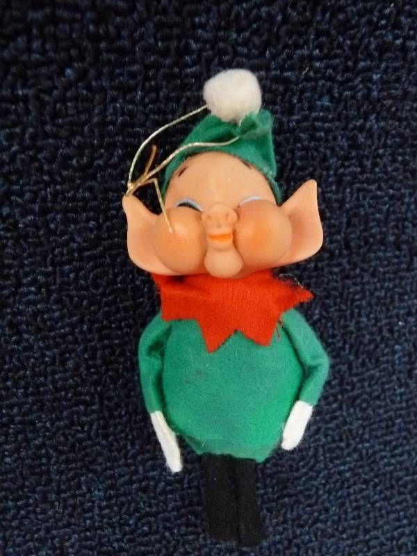 Amusing Japan vintage elf ornaments