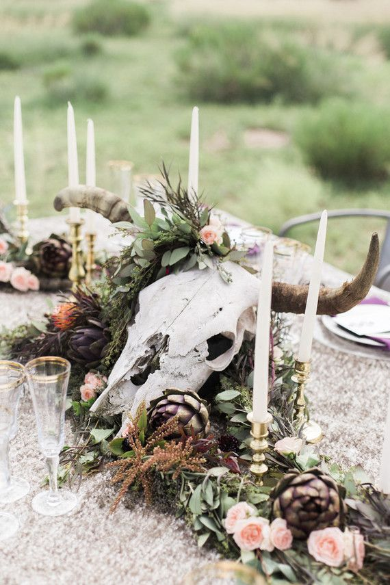 Bohemian centerpiece | Wedding & Party Ideas | 100 Layer Cake