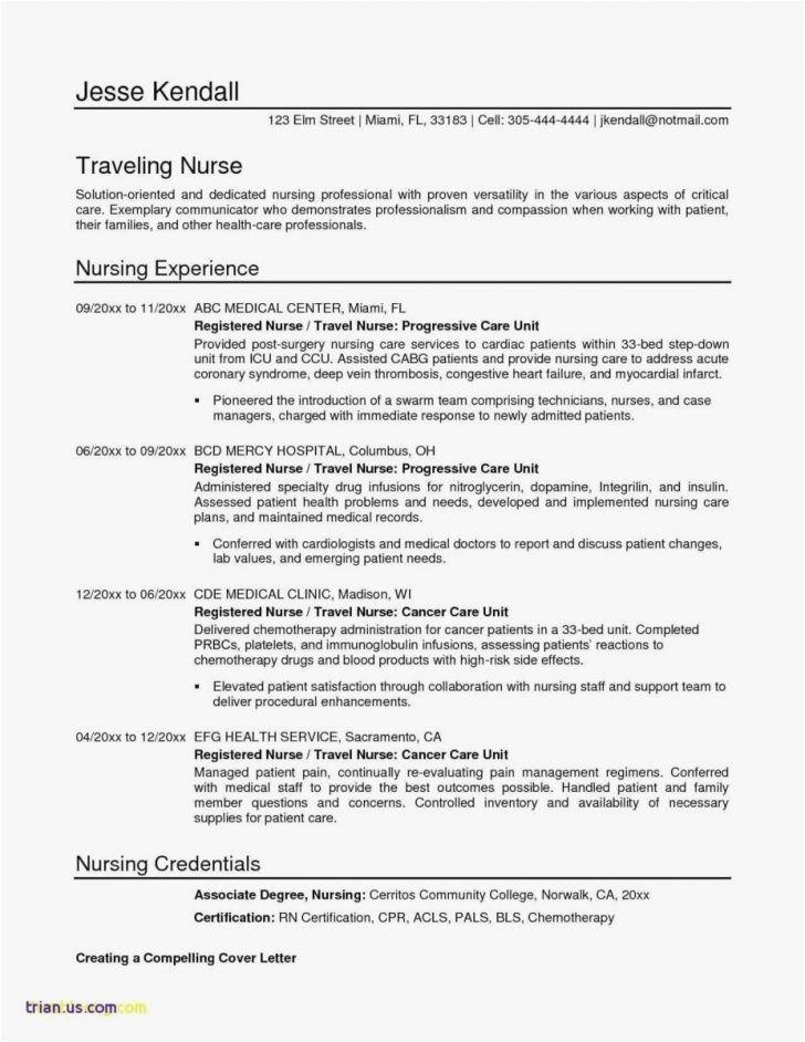 Sample Resume Xls Format | 3-Resume Format | Nursing resume, Cv ...
