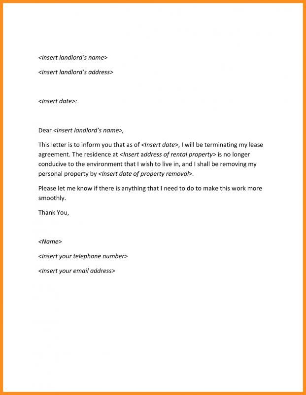 sample termination letter without cause template pinterest
