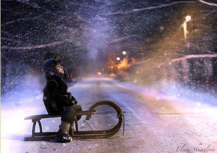 One winter night by Elena Shumilova on 500px
