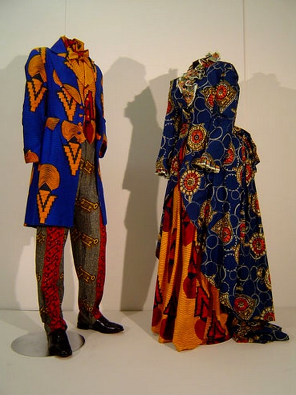 African  textiles purposed to Neo-Edwardian fashion by Yinka Shonibare