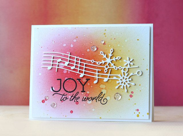 SSS-Jingle Snowflakes Die (From All of Us Release) - card by Laura Bassen