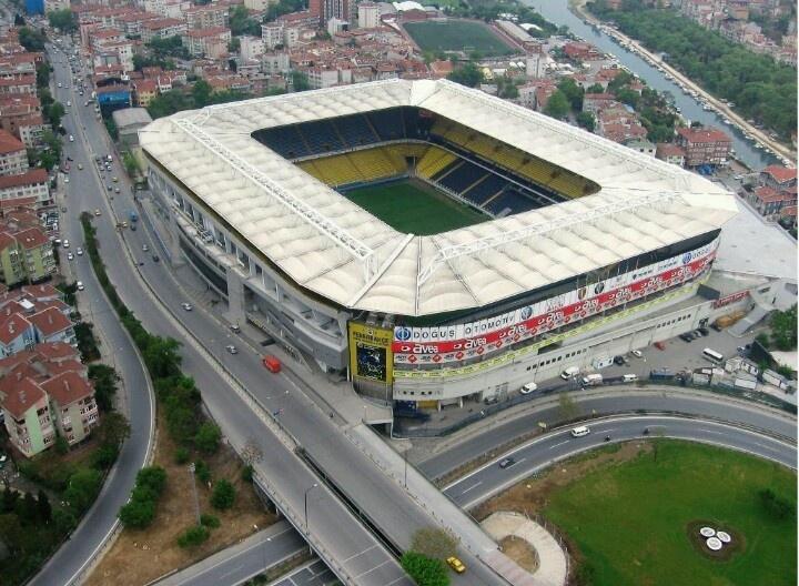 Estadio del Fenerbache- Estambul