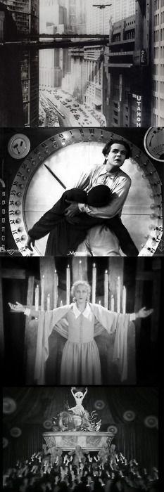 METROPOLIS (1926) Director: Fritz Lang Intérpretes: Brigitte Helm, Rudolf Klein-Rogge, Alfred Abel, Gustav Frohlich.