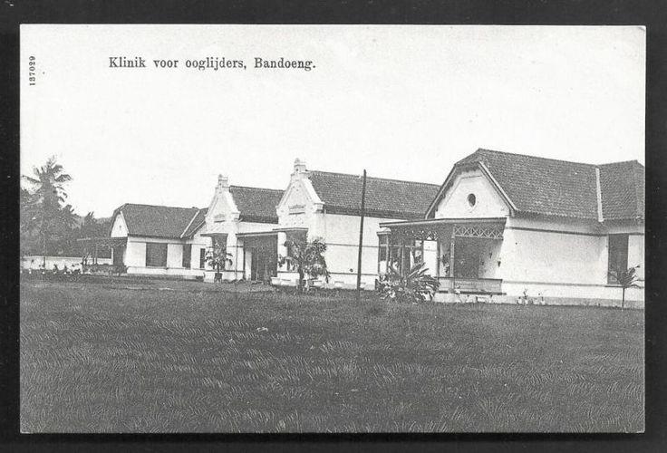 Bandoeng Eye Hospital Wilhelmina Indonesia ca 1910 nl.picclick.com