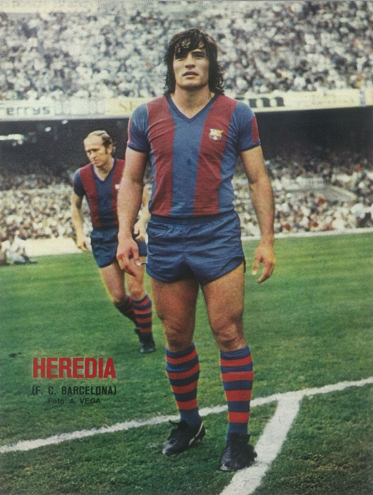 140 Heredia (Fútbol Club Barcelona). Barcelona futbol