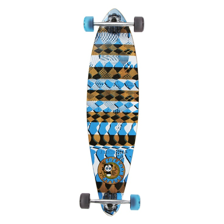 Freedom Dolly The Rollercoaster Longboard - 38 inch | Free Delivery