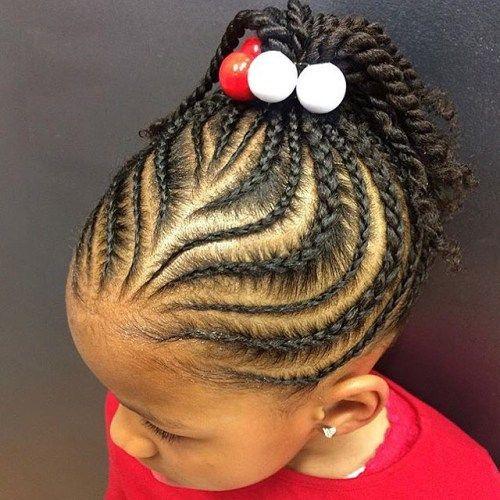 Phenomenal 1000 Ideas About Kids Braided Hairstyles On Pinterest Kid Short Hairstyles For Black Women Fulllsitofus