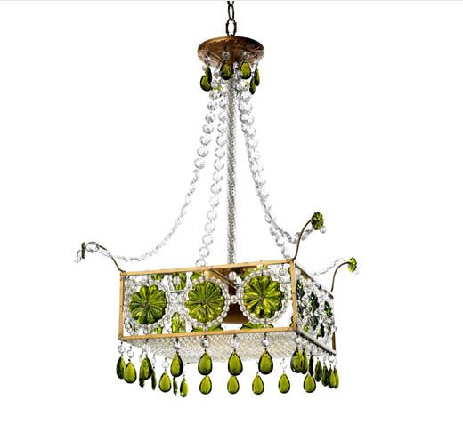 'Borghese' chandelier by Canopy Designs