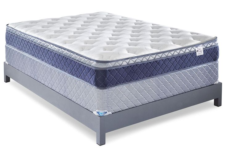 You can rely on the relaxation and relief this Springwall Fairweather Euro-top full mattress set will provide. Your body is supported by the 560 continuous coils lying at the heart of this mattress. Tender muscles will appreciate the egg-crate-shaped comfort foam, which is made from soy foam so you can rest easy knowing your bed is eco-friendly. With plush foam and fibre stitched together, you will easily cozy up to this soothing sleep space at the end of each day.