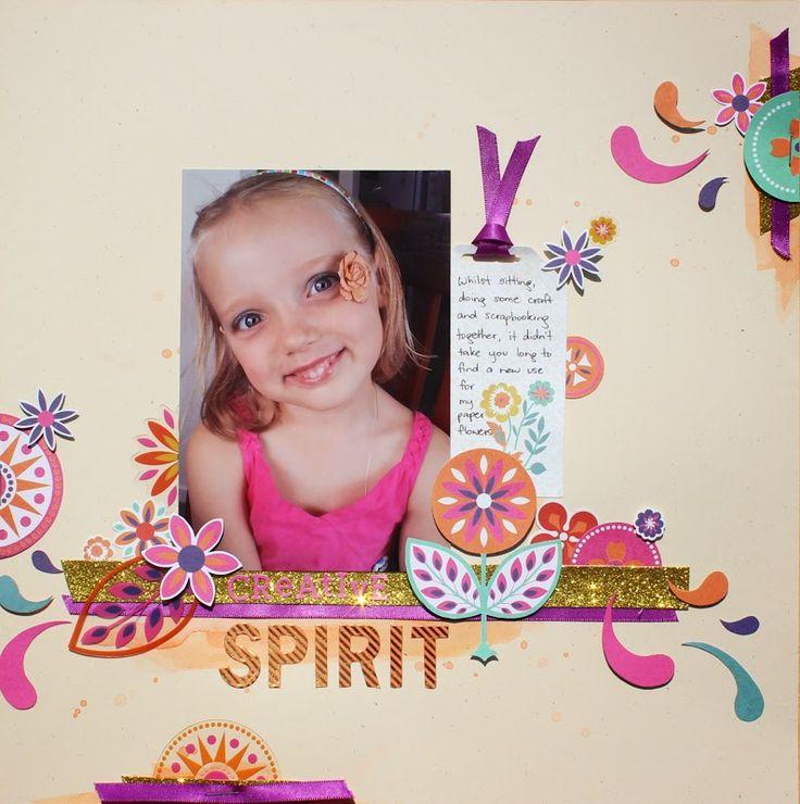 Scrappy Canary: Spirit - Sandra Bunch