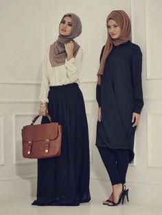 women hijab fashion ideas for office wear (19)                              …