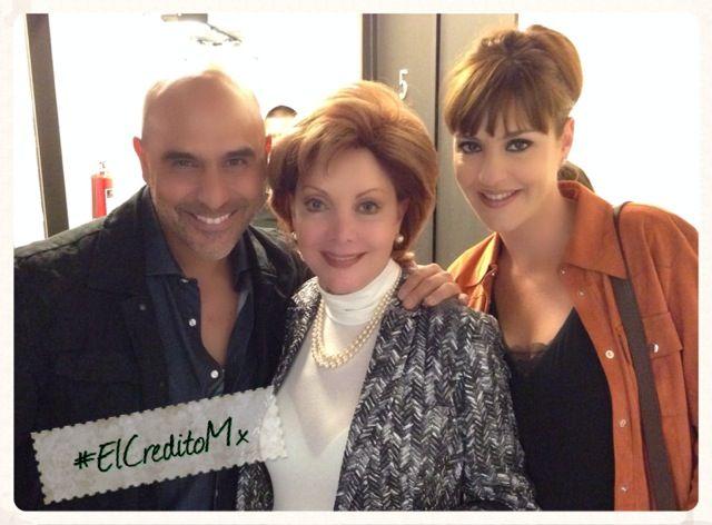 Este fin de semana contamos con la presencia en #ElCreditoMx de las hermosas Jacqueline y Chantal Andere.  ¡Gracias por su visita!