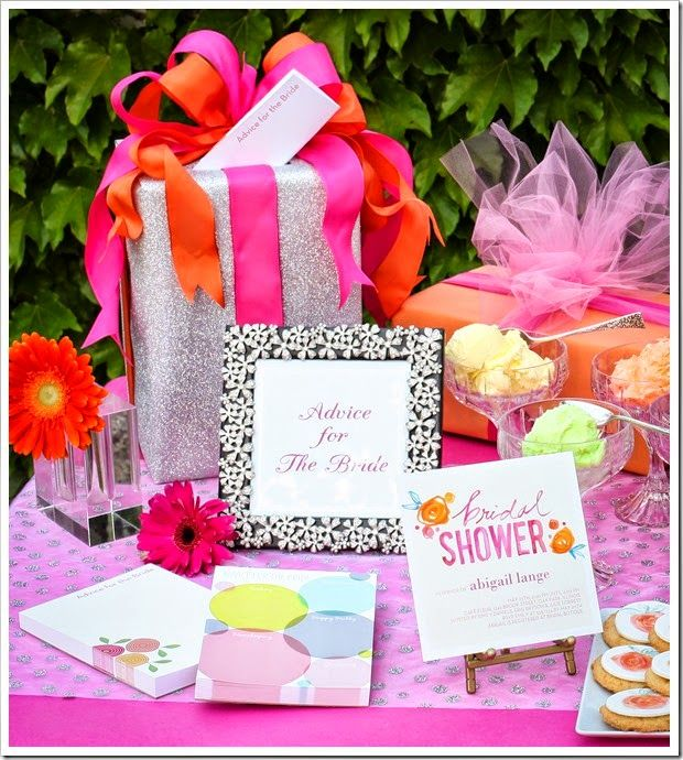 Shutterfly Bridal Shower Invitations Notepads And More Complete This Vibrant Theme
