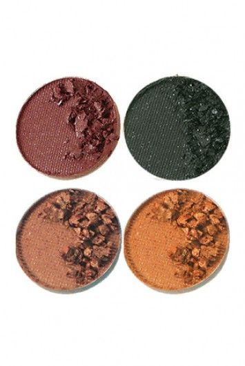 Make-up kleuren voor een herfsttype.