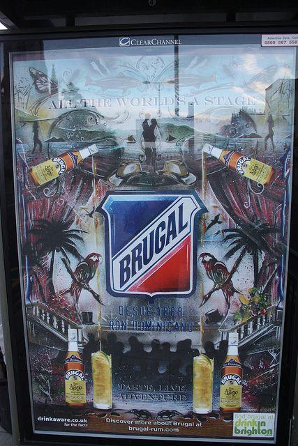 Don's Brugal Rum Advert by Guy (CHOPPER) Harris, via Flickr