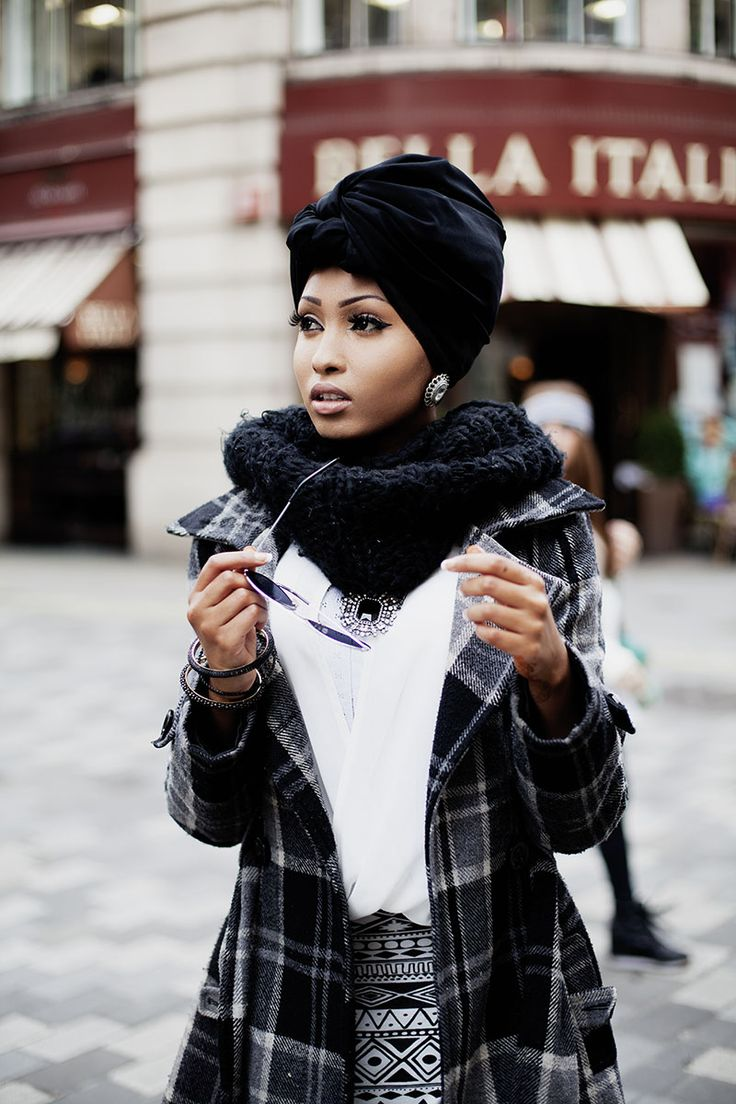 modeststreetfashion:Snapped this young lady who looks prepared to tackle the world in the streets of London, England. She came down from Bir...