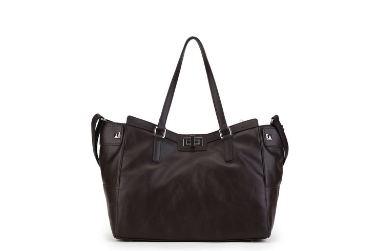 Genuine Baggage - Chocolate Brown Leather Bag by Pink Corporation in style Denise, $149.95 (http://www.genuinebaggage.com.au/chocolate-brown-leather-bag-by-pink-corporation-in-style-denise/)