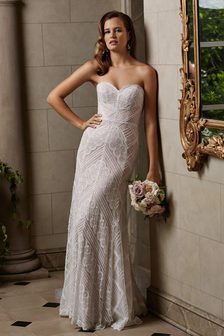 Lisa robertson in wedding dress - I Like This Dress I Wish It Wasn T Strapless Though Gia Dress Wtoo Brides For Watters Wedding Dress Style 14106