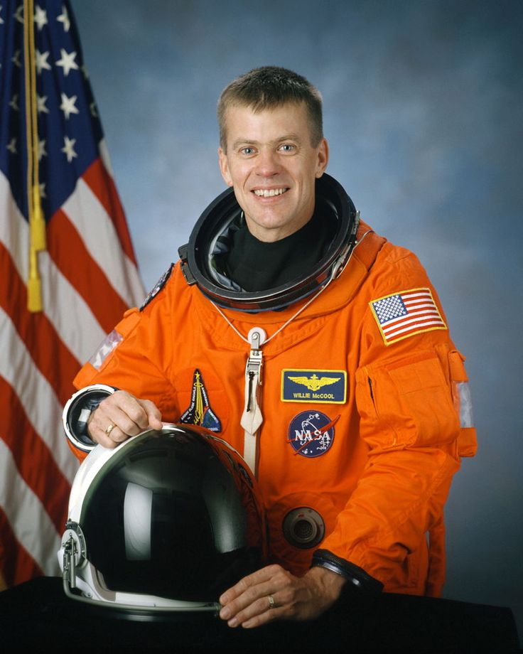 Astronaut William C. McCool, pilot of the STS-107 mission, shown on August 10, 2001. He perished in flight on February 1, 2003, when Space Shuttle Columbia disintegrated over northern Texas.