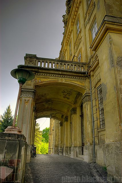 OPNI - Main entrance | abandoned Hospital