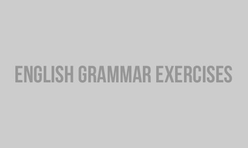 Free English grammar & vocabulary exercises, rules, lessons, and tests online. Learn & practice English grammar & vocabulary.