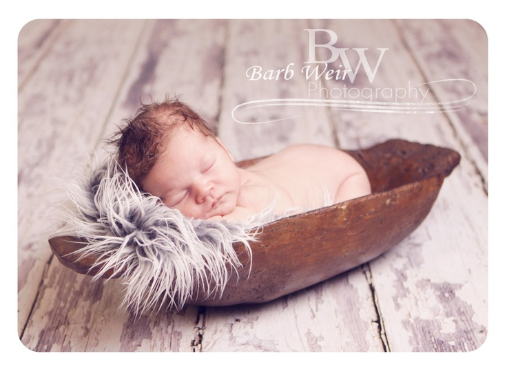 In stock large distressed trench bowl photography photographer newborn prop must have