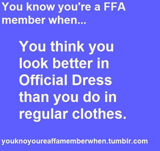 You think you look better in official dress than you do in regular clothes