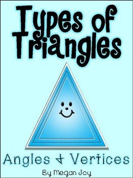 Classifying Types of Triangles by Angles & Vertices Students will learn to identify and classify all types of triangles based on their angles and vertices, including isosceles, scalene, equilateral, obtuse, acute, and right-angled. Contents include... *Sorting Labels *Montessori 3 Part Cards for