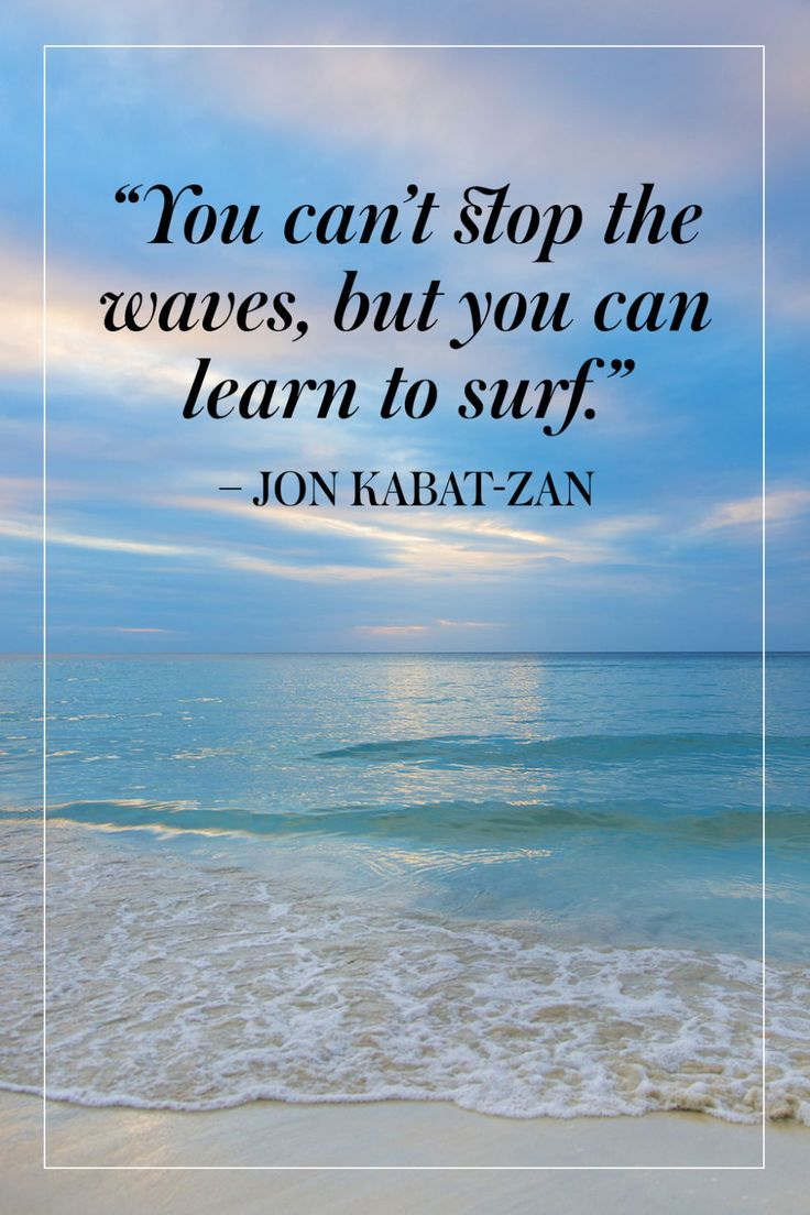 17 Best Inspirational Ocean Quotes on Pinterest  Ocean quotes, Wave quotes a...
