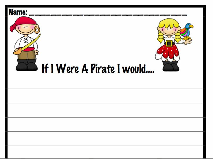 write a letter like a pirate