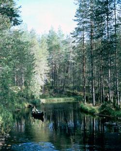 The Hossa area of Suomussalmi,  Finland