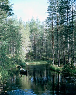 The Hossa area of Suomussalmi,  Finland