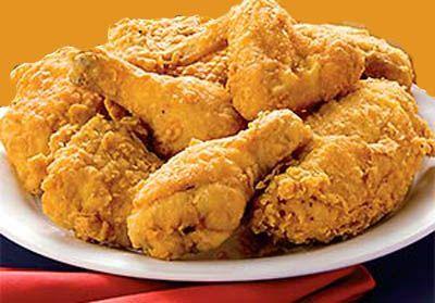Pilons de poulet panés