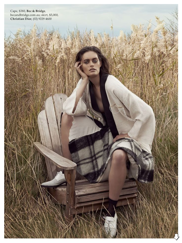 coming undone: jenna klein by holly blake for elle australia august 2014