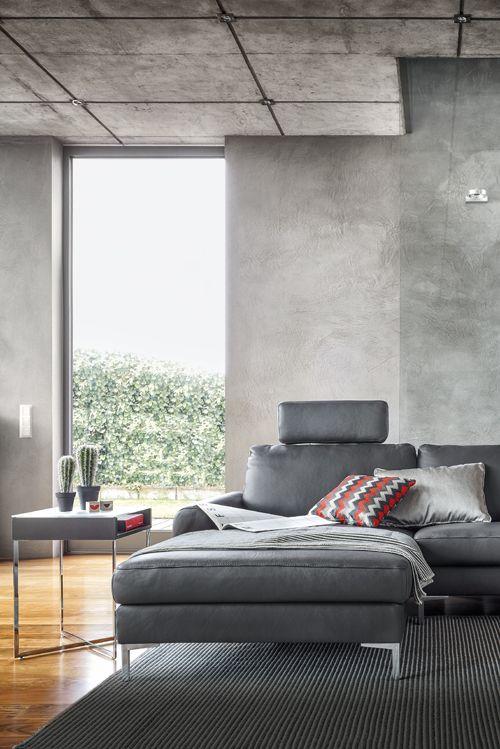 Sitzen in der Komfortzone mit Contur Caserta von Spitzhüttl Home Company. #einrichtung #möbel #sofa #leder #contur