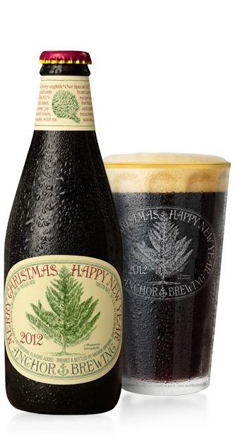 Cerveja Anchor Christmas Ale (Our Special Ale) 2012, estilo Christmas/Winter Specialty Spiced Beer, produzida por Anchor Brewing Company, Estados Unidos. 5.5% ABV de álcool.