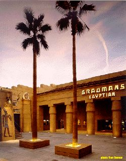 The Egyptian Theater in Hollywood - Great place to see movies