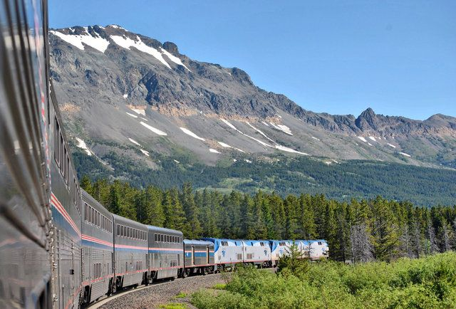 The Empire Builder-Amtrak's five best train journeys